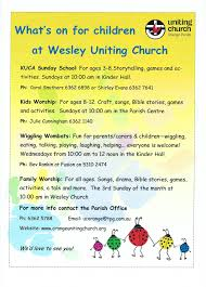 kids ministry u2013 orange uniting church