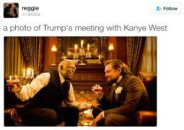 Django Meme - pettiest memes from kanye s meeting with cheeto elect trump bossip