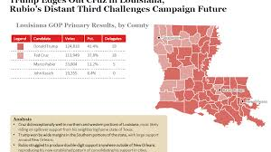Map Of Shreveport Louisiana by Louisiana Democratic Primary Voting Map