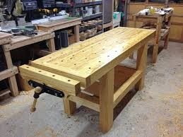 Woodworking Bench Plans by 198 Best Workbenches Images On Pinterest Workbench Plans