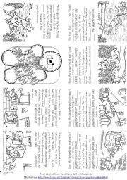 english teaching worksheets the gingerbread man