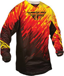 fly racing motocross 32 95 fly racing boys kinetic glitch jersey 2015 198002