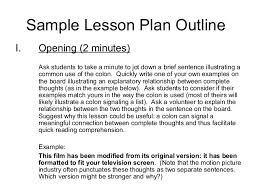 lesson plan outline unit plan and lesson plan templates for