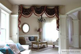 captivating swag valance curtains and country curtains curtains