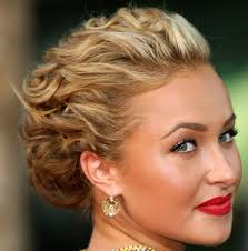 updo hairstyles for short bob hair loose updo hairstyles for long
