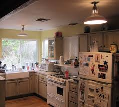 Replace Fluorescent Light Fixture In Kitchen by Vintage Benjamin Warehouse Shades For Farmhouse Kitchen Blog