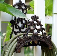online cheap garden wall mounted hose holder cast iron hose