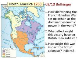 america map before and after and indian war the and indian war ppt