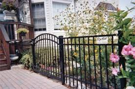 ornamental aluminum fencing frederick county md dc