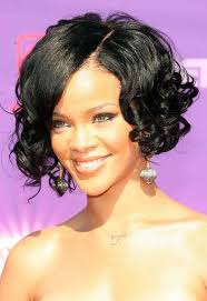 pic of black women side swept bangs and bun hairstyle curly bob hairstyle with side swept bangs women hairstyles