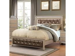 simmons upholstery hollywood 1008 transitional queen bed with