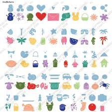 cricut doodlecharm cartridge 50 assorted designs