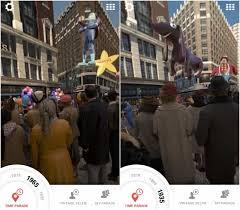 macy s thanksgiving day parade time traveler and emojis app the