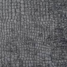 Velvet For Upholstery Grey Alligator Print Shiny Woven Velvet Upholstery Fabric By The