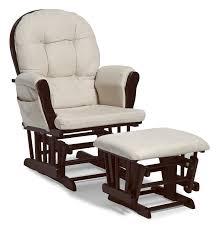 glider and ottoman set for nursery glider and ottoman set espresso beige nursery rocking chair hoop