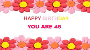 45 years old birthday postcards u0026 postales youtube