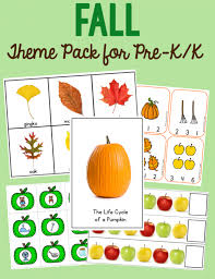 free activity for teaching fall vocabulary the measured mom