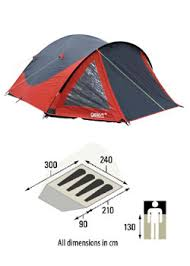 rocky 4 person tent easy pitch large porch small pack size