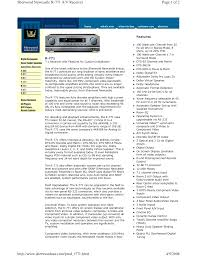 download free pdf for sherwood newcastle rx 770 receiver manual