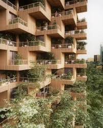 Home And Design Expo Centre Toronto Penda Proposes Toronto Tree Tower Built From Cross Laminated