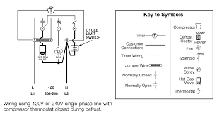precision 208 defrost timer wiring diagram commercial defrost