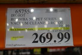 Costco Vaccum Cleaner Costco Sale Irobot Roomba 595 Pet Series Vacuum Cleaning Robot