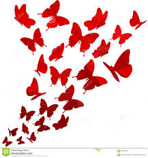 light triangle polygon butterflies swirl flying