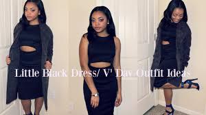 little black dress haul valentine u0027s day ideas youtube