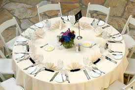 table setting luxurious table setting at a wedding reception stock photo image