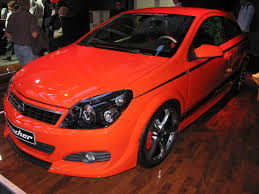 opel orange opel astra gtc