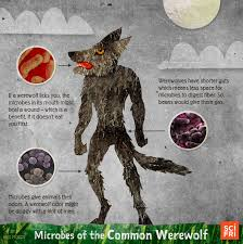Typical Halloween Monsters by Monster Microbiome Mash Science Friday