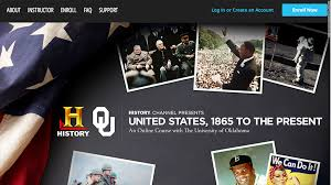 history channel to create college course
