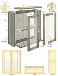 bathroom wall cabinet plans u2022 woodarchivist