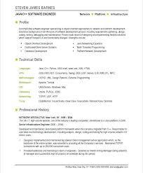 Testing Profile Resume Resume Cv Resume Profile Summary Examples Experienced Software