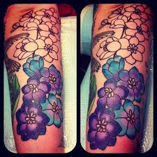 larkspur tattoo larkspur tattoo things i love pinterest