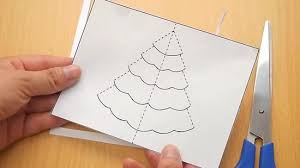 how to make a tree pop up card robert sabuda method