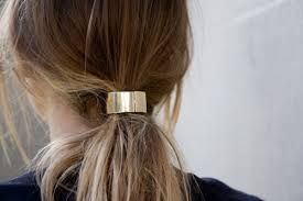 metal hair hair trend hair cuffs and metallic hair accessories hair