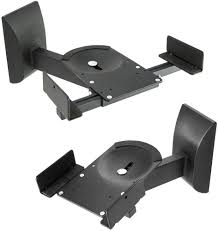 amazon com theater solutions ts509 b tech bt77 ultragrip pro speaker mount set of 2 side clamp with