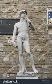 copy famous david sculpture by michelangelo stock photo 53315836