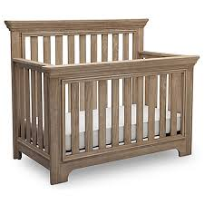 Rustic Convertible Crib Serta Langley 4 In 1 Convertible Crib In Rustic Whitewash
