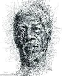 dyslexia artist vince low scribbles portraits of famous dyslexics