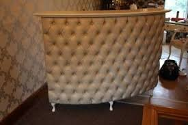 tufted salon reception desk shabby chic beauty salon like this in a different color ideas
