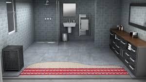 bathroom underfloor heating thermostat underfloor heating for your bathroom wet room systems warmup