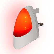 automatic led night light red automatic led night light dusk 2 dawn led sensitive white plug
