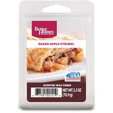 better homes and gardens wax cubes baked apple strudel walmart com