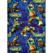 tmnt wrapping paper mutant turtles treat sacks supplies from www