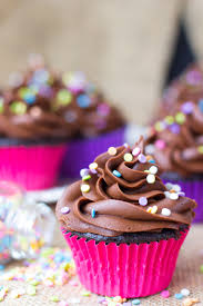 easy chocolate cupcakes recipe chocolate cupcakes bowls and