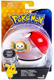 sun and moon clip n carry pokeball rowlet pokeball