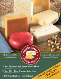 Wisconsin Cheese Gifts West Allis Cheese And Sausage Shoppe Wisconsin