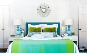 blue green bedroom captivating green bedroom with blue accent home
